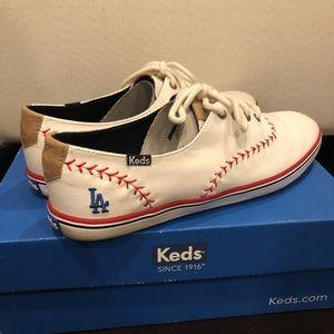 Keds LA Dodger shoes